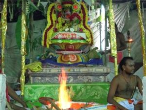 Manakkal Maha kumbabhisheka Yaga Sala