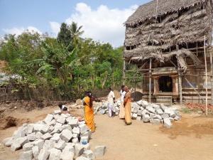 Foundation work-Subramanya Sannadhi-Keezh Korkai
